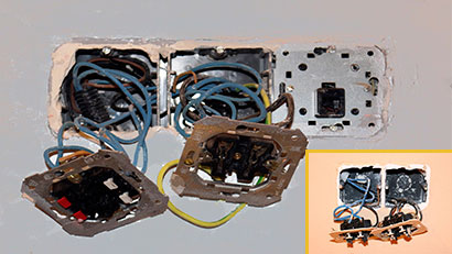 cambio mecanismos eléctricos